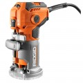 RIDGID 5.5 Amp Electric Compact Palm Router.