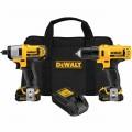 DeWalt DCK211S2 12V MAX Cordless Drill / Impact Driver Combo Kit