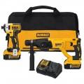 DeWalt DCK233P2 20V MAX XR Rotary Hammer / Impact Kit