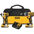 DeWalt DCK287D2 20V MAX XR Li-Ion Brushless Hammer Drill & Impact Driver Kit