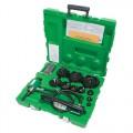 """Greenlee 7310SB 1/2 through 4"""" Slug-Buster Ram and Hand Pump Hydraulic Driver Kit"""