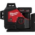 Milwaukee 3632-21 M12™ Green 360° 3-Plane Laser Kit