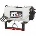 NorthStar High-Flow ATV Boomless Broadcast and Spot Sprayer — 26-Gallon Capacity, 5.5 GPM, 12 Volts