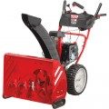 Troy-Bilt 2-Stage Electric Start Snow Blower with Airless Tires — 26in., 243cc Engine, Model# 31BM6CP3766