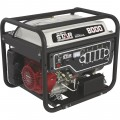 NorthStar Portable Generator with Honda GX390 OHV Engine — 8000 Surge Watts, 6600 Rated Watts, Electric Start, CARB Compliant