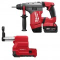 """Milwaukee 2715-22DE M18 FUEL 1-1/8"""" SDS PLUS Rotary Hammer with Dust Extract Kit"""