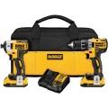 DeWalt DCK283D2 20V MAX XR Li-Ion Brushless Drill & Impact Driver Kit
