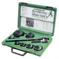 "Greenlee 7238SB Slug-Buster Knockout Kit with Ratchet Wrench 1/2"" thru 2"