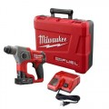 """Milwaukee 2416-21XC M12 FUEL 5/8"""" SDS Plus Rotary Hammer Kit with 1 Battery"""